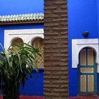 Bleu Majorelle à Marrakech...