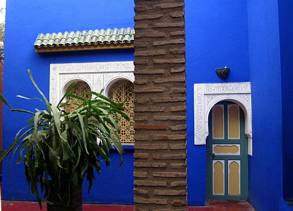 Bleu Majorelle à Marrakech Mes Ailleurs