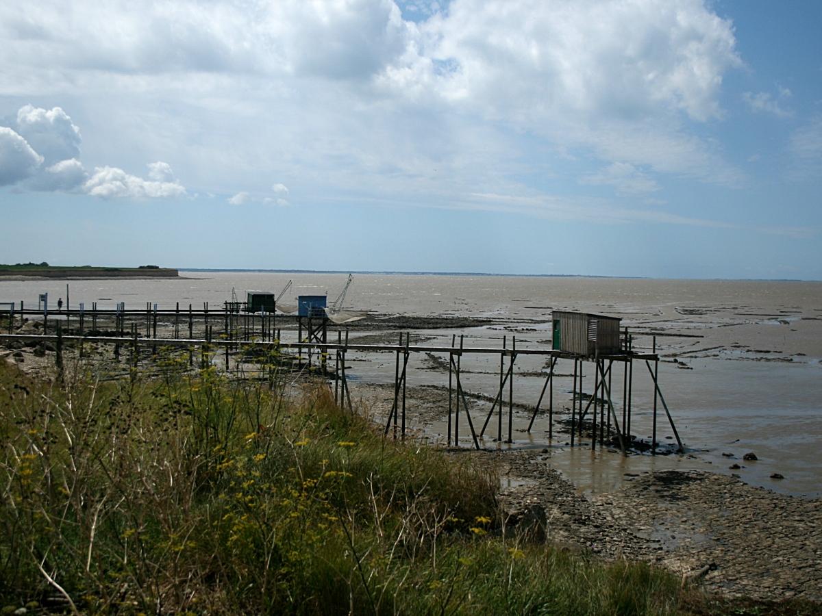 La côte de Marsilly à La Rochelle...