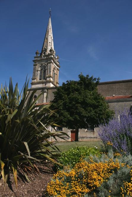 Eglise de l'Île d'Elle - Photo Marie-Sophie Bock-Digne