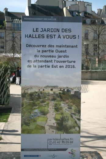 Paris - Les Halles - jardin Ouest - Photo MS Bock-Digne pour Mes Ailleurs - 10 avril 2016